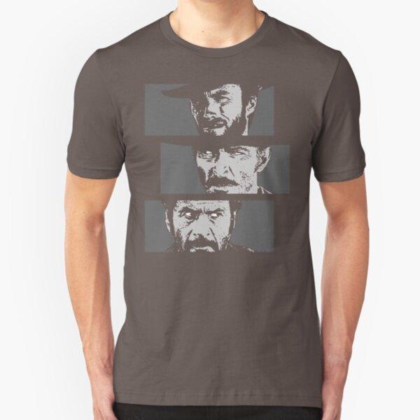 Blondie, Angel Eyes, Tuco Slim Fit T-Shirt