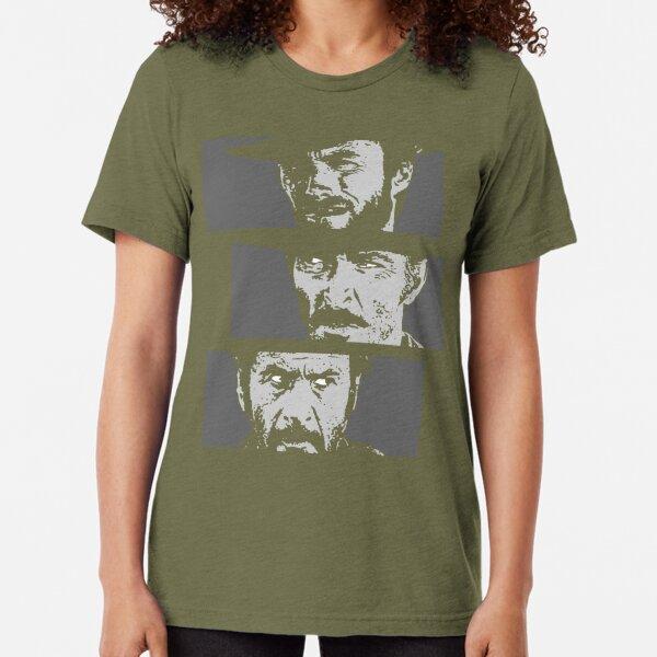 Blondie, Angel Eyes, Tuco Tri-blend T-Shirt