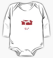 Black Belt In Partial Arts Long Sleeve Baby One-Piece