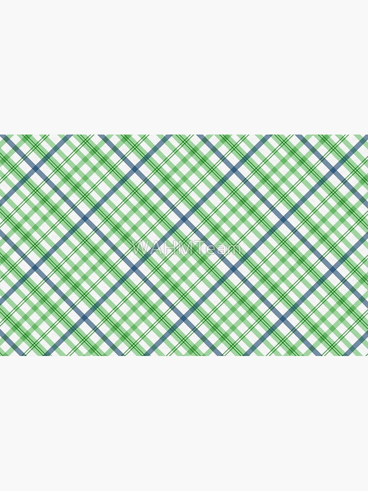 Green and Blue Plaid, Green and Blue Tartan by WAHMTeam
