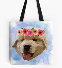 Baby Golden Dog Tote Bag