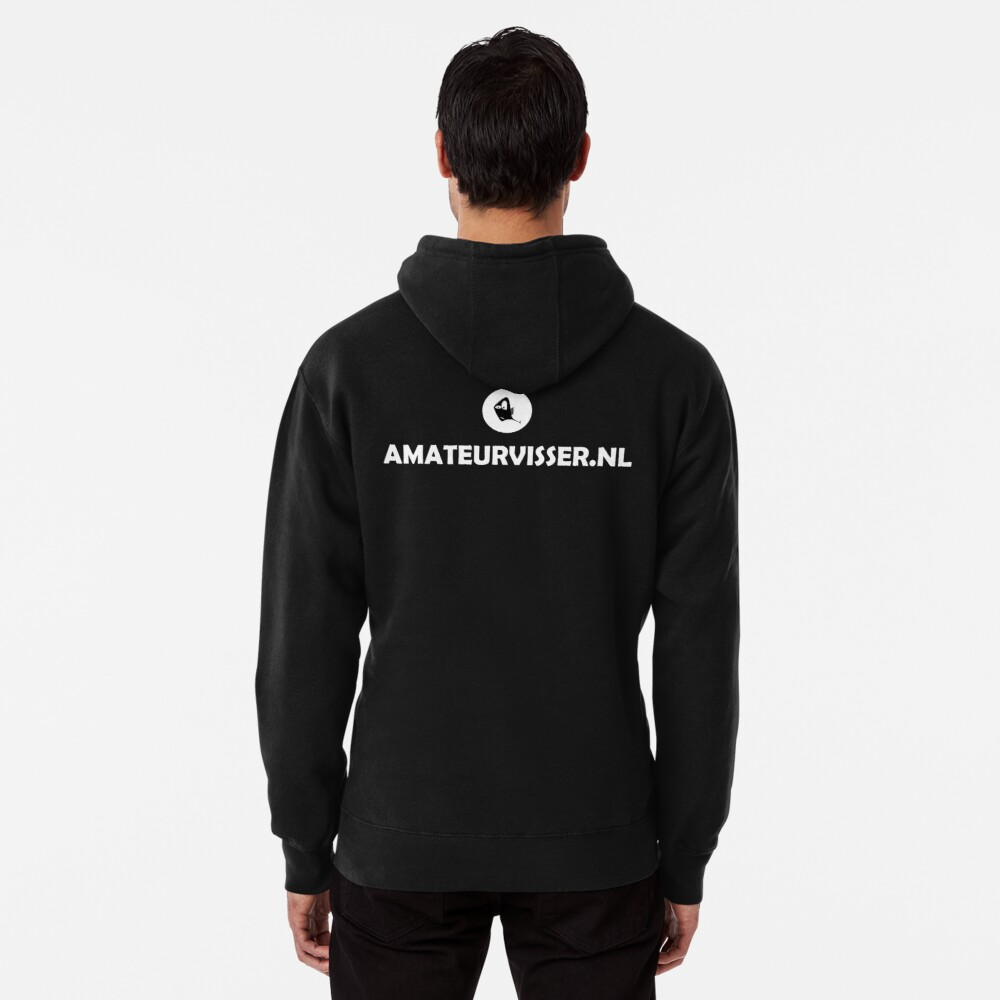 Amateurvisser Logo And Icon Pullover Hoodie
