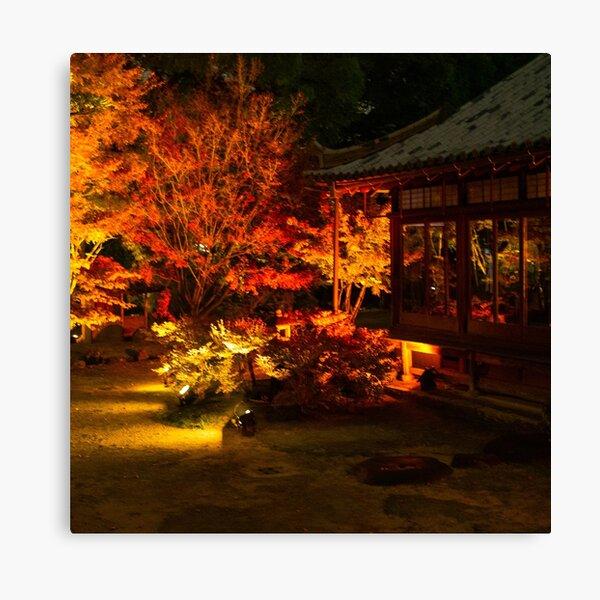 Photography - Japanese night fall  Canvas Print