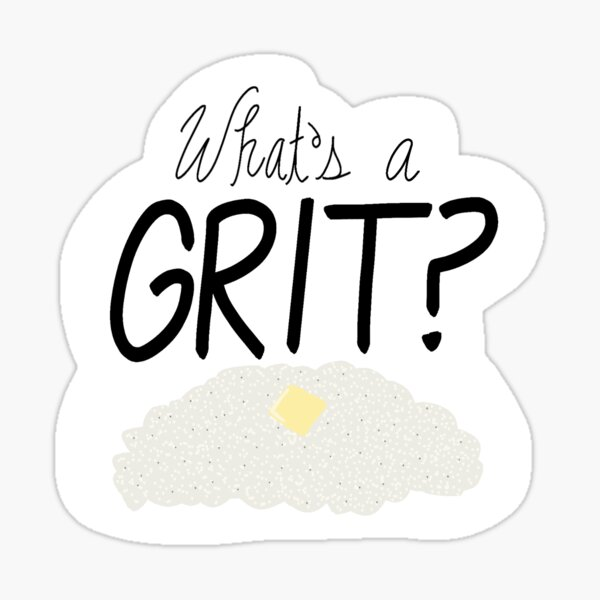 What's a Grit? - My Cousin Vinny Sticker