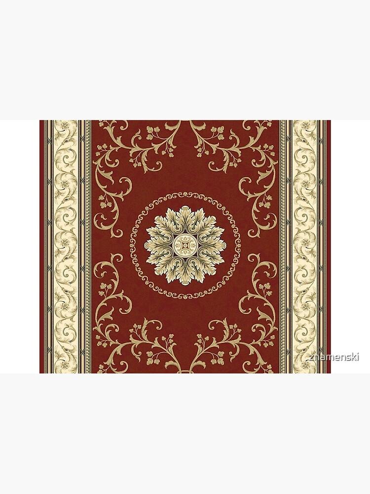Kyrgyz felt carpet ala kiyiz (motley felt) Киргизский войлочный ковер ала-кийиз (пестрый войлок) by znamenski