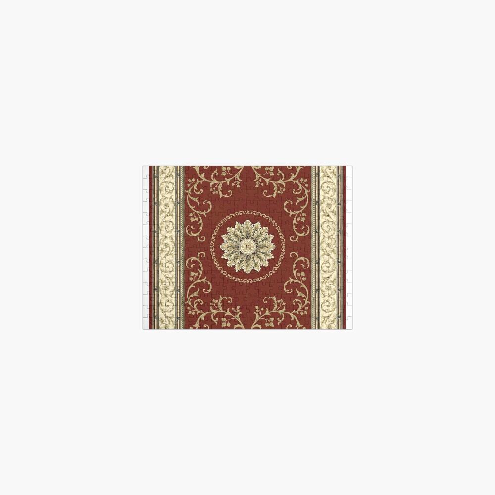 Kyrgyz felt carpet ala kiyiz (motley felt) Киргизский войлочный ковер ала-кийиз (пестрый войлок) Jigsaw Puzzle