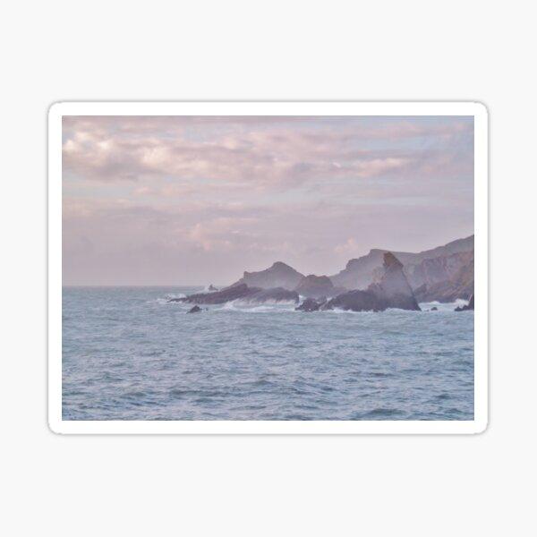 JAGGED EDGE ROCKS HARTLAND QUAY DEVON Sticker