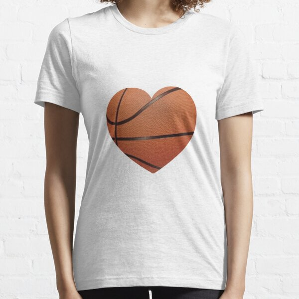Basketball Heart Essential T-Shirt