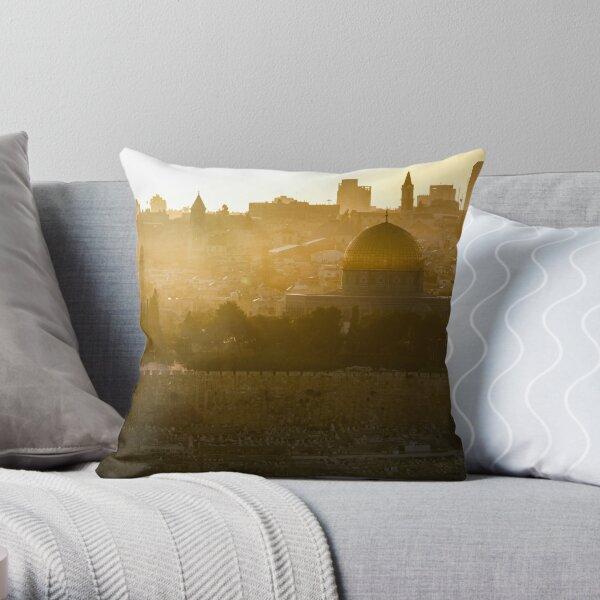 Holy City Throw Pillow