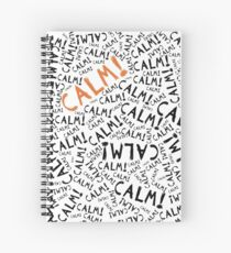 calm! Spiral Notebook