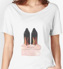 Jimmy Choo Shoes Women's Relaxed Fit T-Shirt