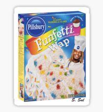FunFetti Wap Sticker