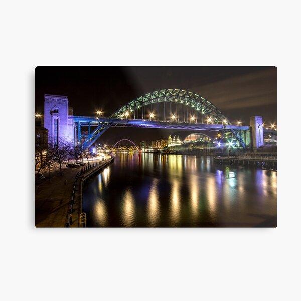 Newcastle Quayside Metal Print
