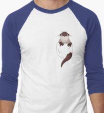 Otter in your pocket! Men's Baseball ¾ T-Shirt