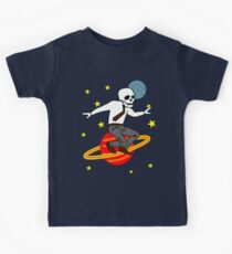 Space Office Skeleton Kids Clothes