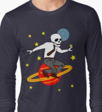 Space Office Skeleton T-Shirt