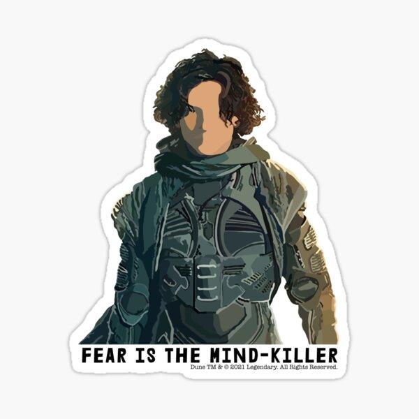 Fear Is The Mind-Killer Paul Atreides Dune 2020 Fan Art Sticker