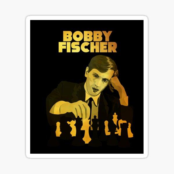 Bobby Fischer, World Champion of Chess Sticker