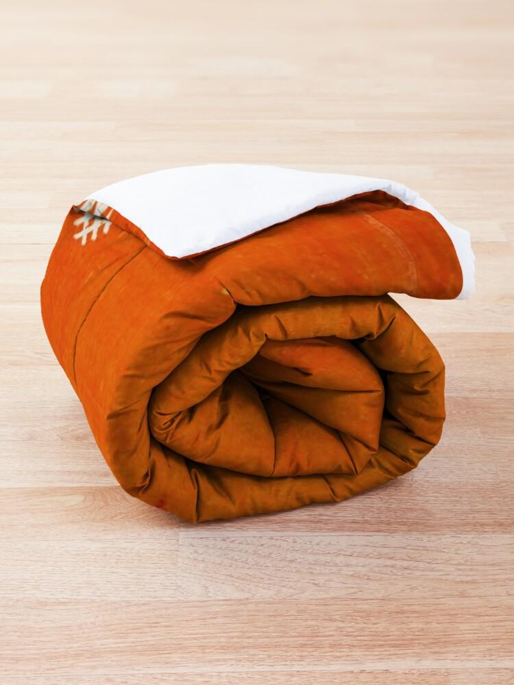 Alternate view of Orange Bohemian Oriental Traditional Berber Moroccan Style  Comforter