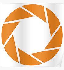 Aperture Science (Orange) Poster