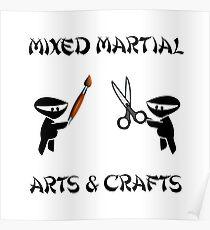 Mixed Martial Arts Crafts Poster
