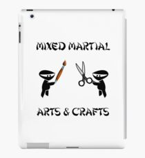 Mixed Martial Arts Crafts iPad Case/Skin