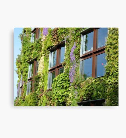 Vertical garden Canvas Print