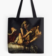 Judith Slaying Holofernes by Artemisia Gentileschi Tote Bag