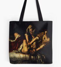 Judith Slaying Holofernes by Artemisia Gentileschi Tote Bag