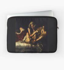 Judith Slaying Holofernes by Artemisia Gentileschi Laptop Sleeve