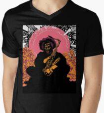 Kamasi Washington Men's V-Neck T-Shirt