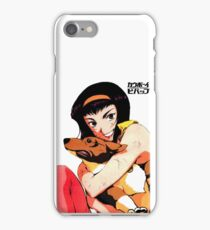 Cowboy bebop Faye and ein iPhone Case/Skin