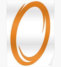 Orange Portal Poster