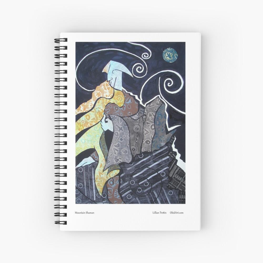 Mountain Shaman Spiral Notebook