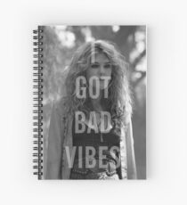 Bad Vibes Spiral Notebook