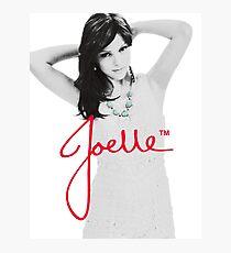 Joelle Black & White Blue Necklace Signature Photographic Print