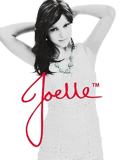 Joelle Black & White Blue Necklace Signature by missjoelley
