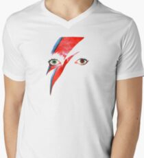 David Bowie Aladdin Sane Lightning Bolt T-Shirt