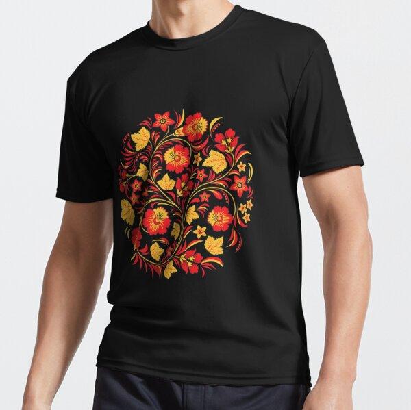 Patterns of the Russian North - Узоры русского севера Active T-Shirt