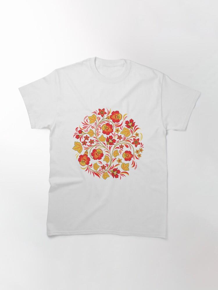 Alternate view of Patterns of the Russian North - Узоры русского севера Classic T-Shirt