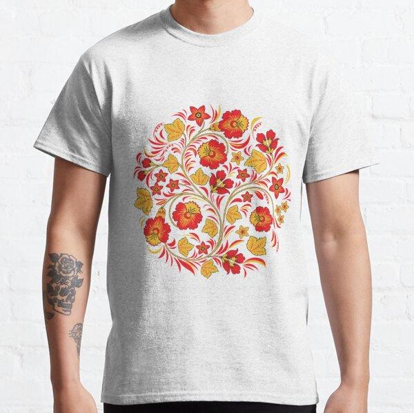 Patterns of the Russian North - Узоры русского севера Classic T-Shirt