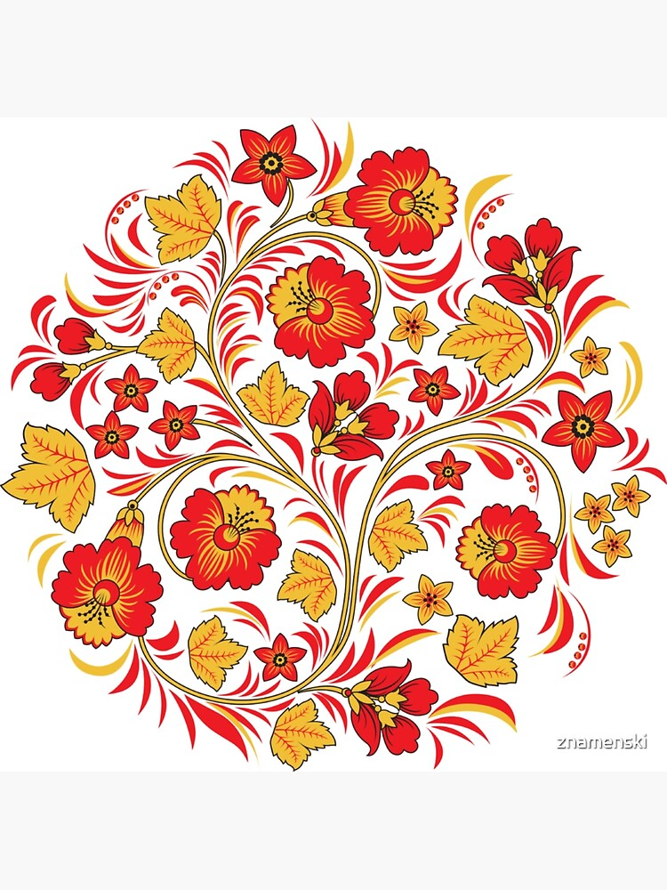 Patterns of the Russian North - Узоры русского севера by znamenski