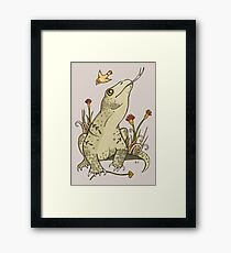 King Komodo Framed Print