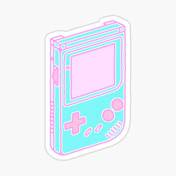Blue Gameboy Sticker