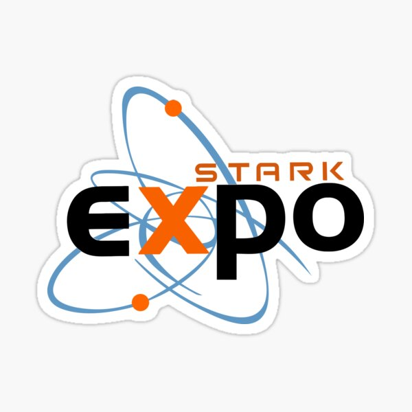 Expo Stark Pegatina