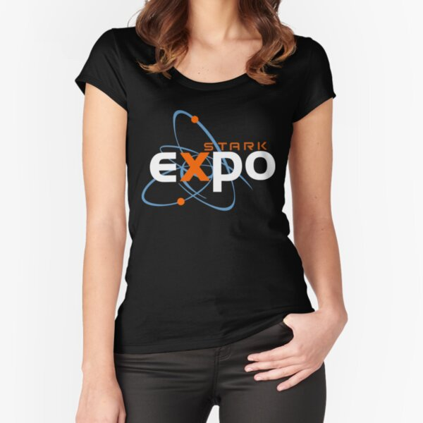 Stark Expo Fitted Scoop T-Shirt