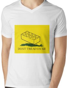 dont tread on legos Mens V-Neck T-Shirt