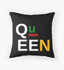 Queen Afrocentric Accessories by AndHerStory Throw Pillow