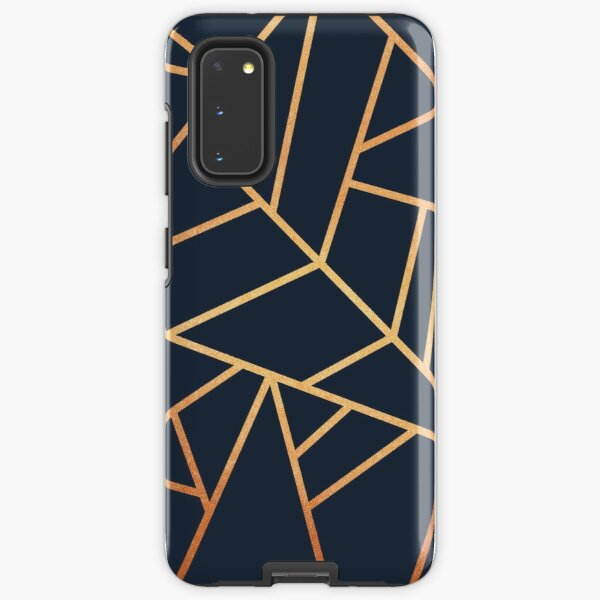 Copper and Midnight Navy Samsung Galaxy Tough Case
