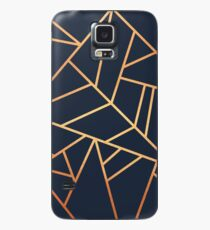 Funda/vinilo para Samsung Galaxy Copper and Midnight Navy